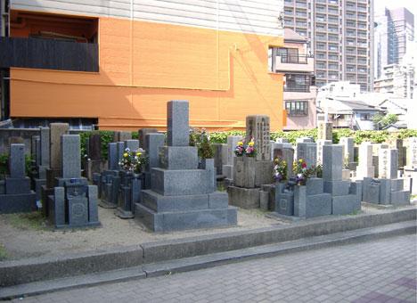光智院墓地