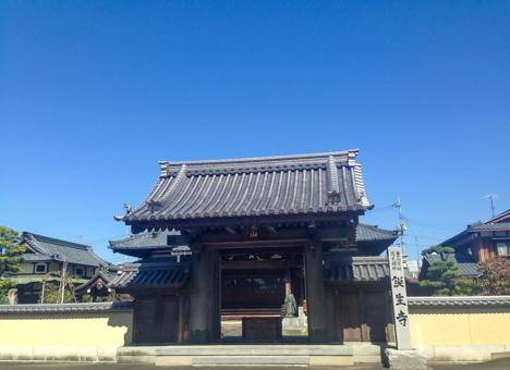 誕生寺墓地