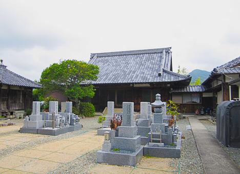 最法寺境内墓地